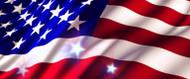 64 X 128 American Flag