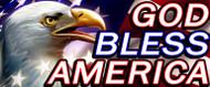 64 X 128 God Bless America