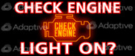 48 X 96 Check Engine Light