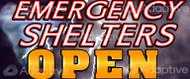 48 X 112 Emergency Shelters Open