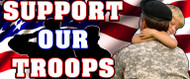 48 X 128 Support Our Troops