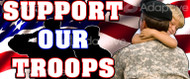 64 X 128 Support Our Troops