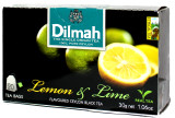 Dilmah Lemon & Lime Flavured Black Tea 20 bags