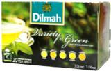 Dilmah Variety of Green Tea  20 bags
