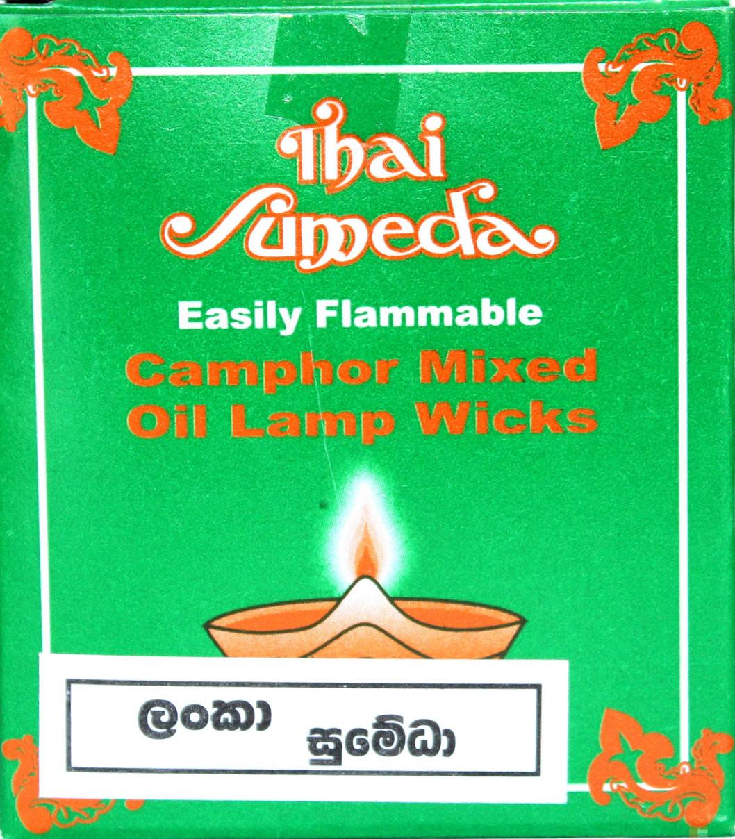 Camphor Mixed Oil Lamp Wicks