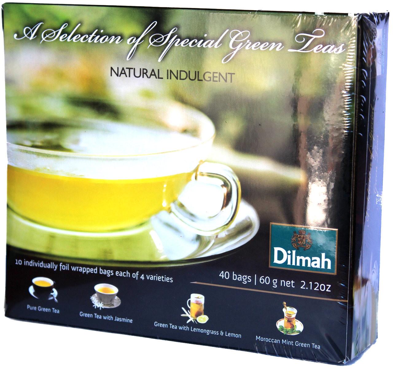 Dilmah a selection of special green teas 40 bags lankandelight image 1 izmirmasajfo