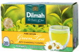 Dilmah Green Tea with Chamomile Flowers 20 Bags