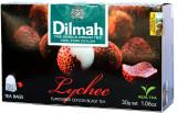 Dilmah Lychee Flavoured Black Tea 20Bags