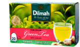 Dilmah Green Tea With Ginger 20 Tea Bags