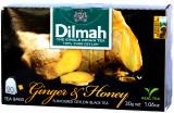 Dilmah Ginger & Honey Flavoured Black Tea 20 Bags