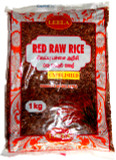 Leela Red Raw Rice Unpolished 1kg