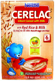 Nestle Cerelac With Red Rice  & Milk 250g