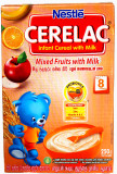 Nestle Cerelac With Mixed Fruits & Milk 250g