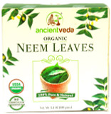 Ancientveda Organic Neem Leaves 100g