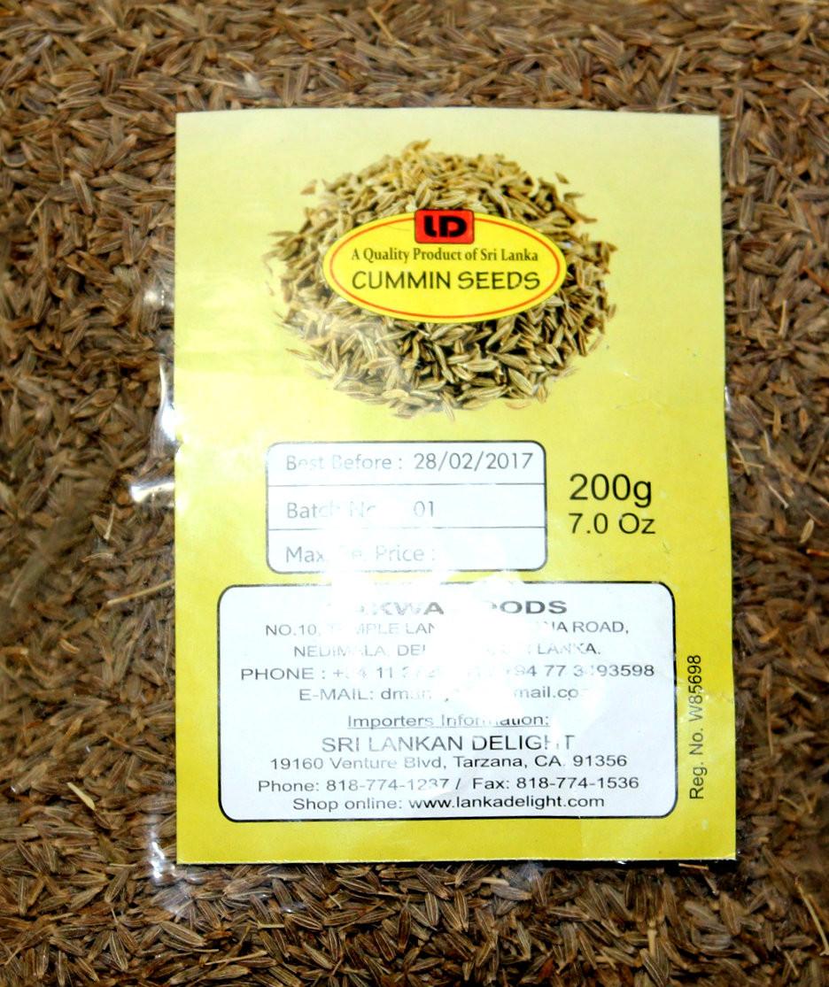 Cummin Seeds 200g