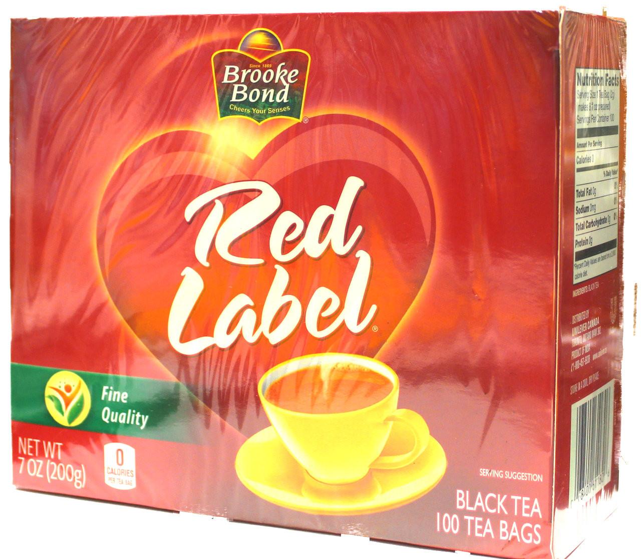 Broooke Bond Red Label 100 Tea Bags