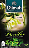 Dilmah Vanila Flavoured Black 20 Tea Bags