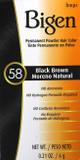 Bigen 58 Black brown Hair color