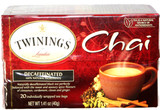 Twinings Decaffeinated Chai tea 20Bags