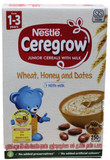 Nestle Caregrow Cereal With Milk,Wheat,Dates & Honey 250g