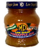 MD Low Sugar Pineapple Jam 330g