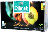Dilmah Peach Flavoured Black Tea 20 bags