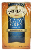 Twinings Lady Grey Black Decaffeinated 20 Tea bas