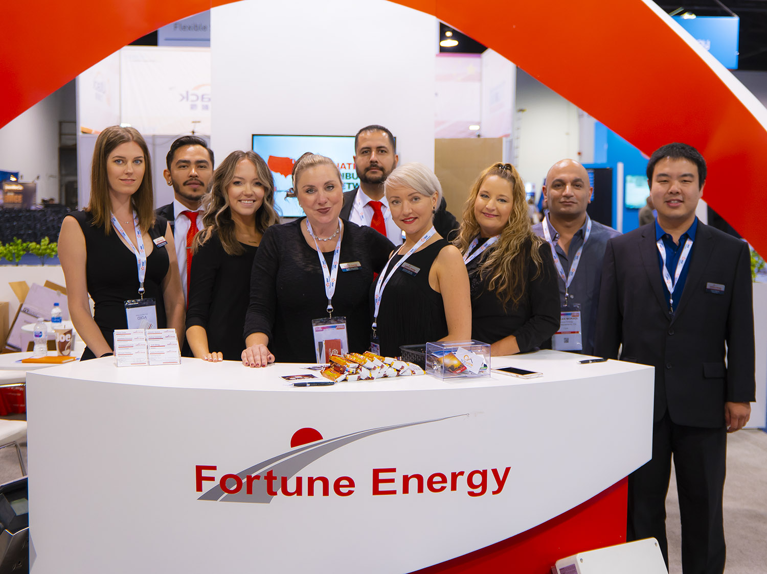 Fortune Energy SPI Team at Solar Power International 2018