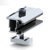 Dual Rack Thinfilm End Clamp