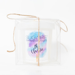 The Sugaire Sweet Pint in Gift Box  is our All-Natural  Cotton Candy wrapped in a clear gift box and tied with ribbon.  The perfect part favor, place setting or simple gift for a friend!   Organic Cane Sugar |  All-Natural Flavoring | Dye-Free | Natural, Plant-Based Colors | Vegan & Kosher | Gluten-Free  COTTON CANDY DALLAS, COTTON CANDY NEW YORK, COTTON CANDY NYC, COTTON CANDY LA, COTTON CANDY, LOS ANGELES, COTTON CANDY MAIMI, COTTON CANDY CHICAGO, COTTON CANDY DC, COTTON CANDY SEATTLE, COTTON CANDY HOUSTON, COTTON CANDY CHICAGO, COTTON CANDY AUSTIN, COTTON CANDY TULSA, COTTON CANDY BOSTON, COTTON CANDY ATLANTA, COTTON CANDY PORTLAND, COTTON CANDY JERSEY, COTTON CANDY SAN FRANCISCO, COTTON CANDY SAN DIEGO, COTTON CANDY SALT LAKE CITY, COTTON CANDY SAN ANTONIO