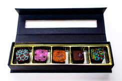 Modchocolate | 5 Piece Assortment | The Artisanal Chocolate Collection