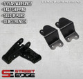 "Street Edge 88-98 Silverado/C-1500/Sierra Ext Cab 4"" Rear Shackle & Hanger Kit"