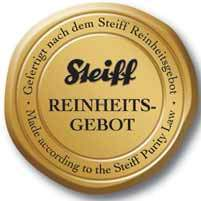 Steiff Reinheits Gebot Purity Law Seal