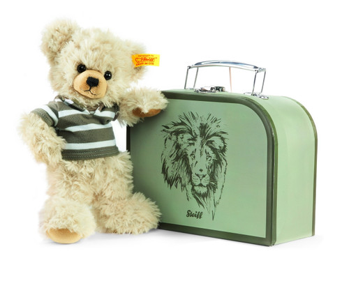 Steiff Lenni Teddy Bear In Suitcase EAN 111211