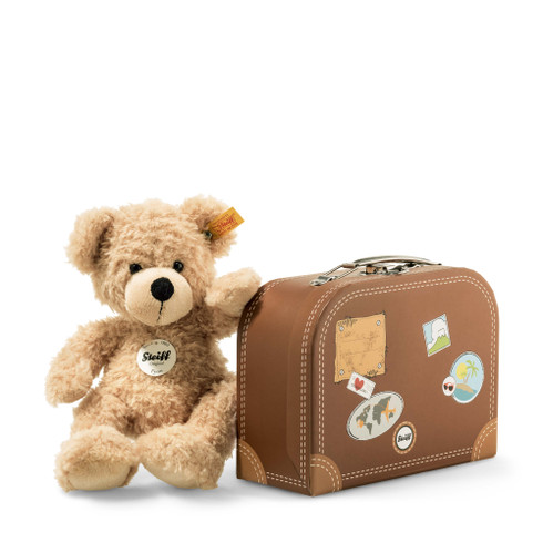 Fynn Teddy Bear In Suitcase EAN 111471