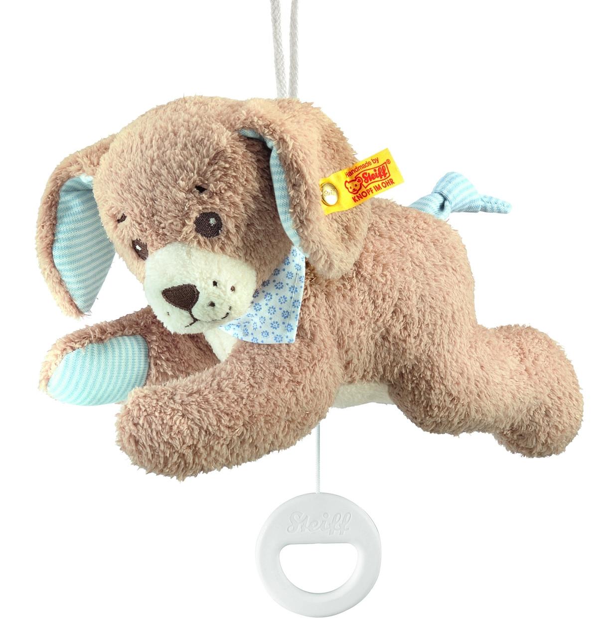 Music Box Good Night Dog Steiff Ean 239700