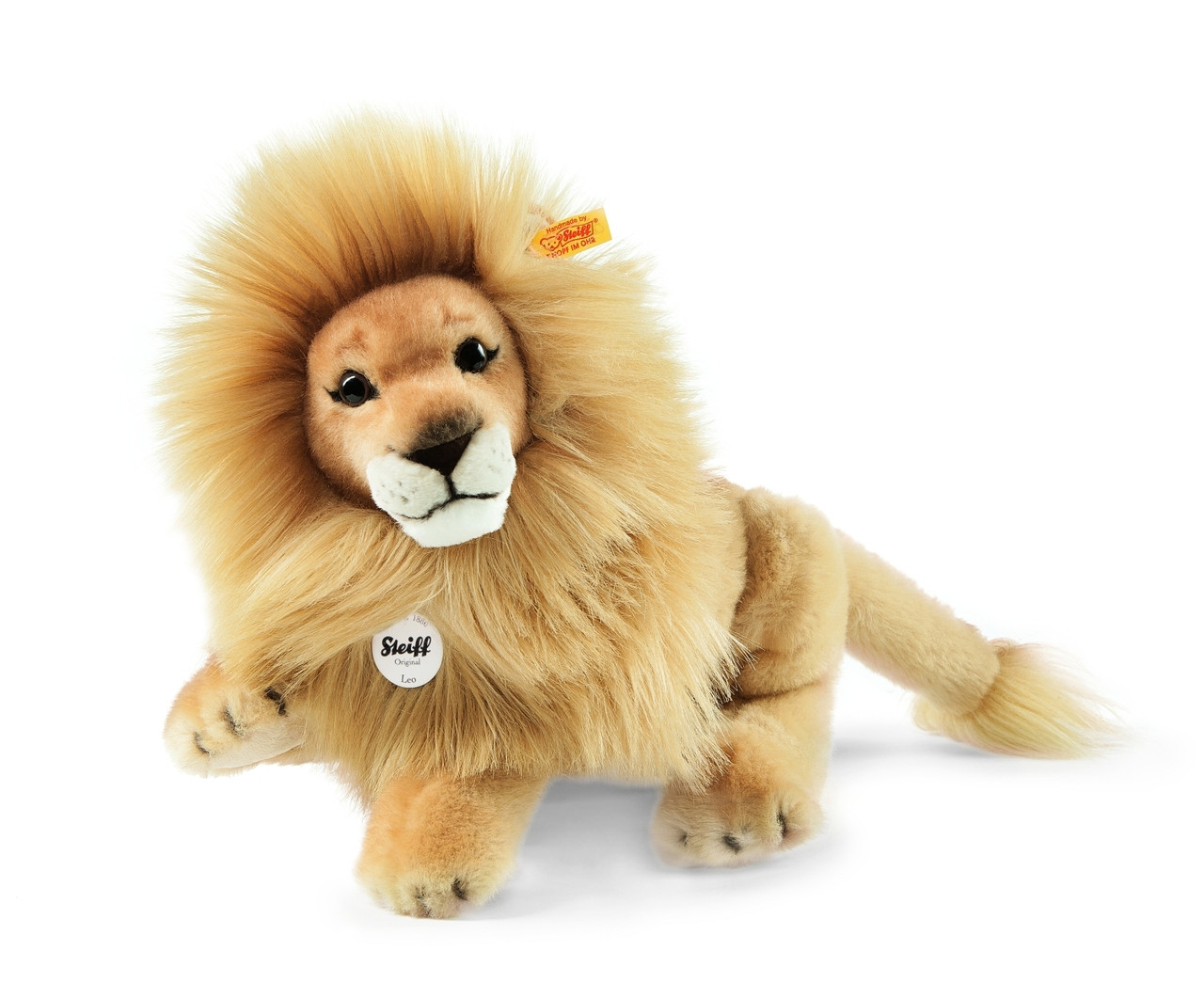 Stuffed Animals Lion Leo Steiff Ean 065668