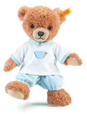 Steiff Baby-M/ädchen Mit S/ü/ßer teddyb/ärapplikation Babyf/äustlinge