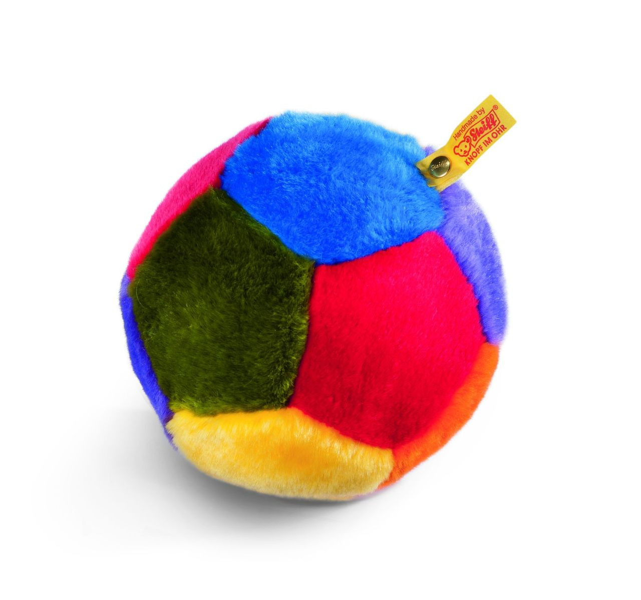Kelly Toy My First Soccer Ball Plush With Rattle