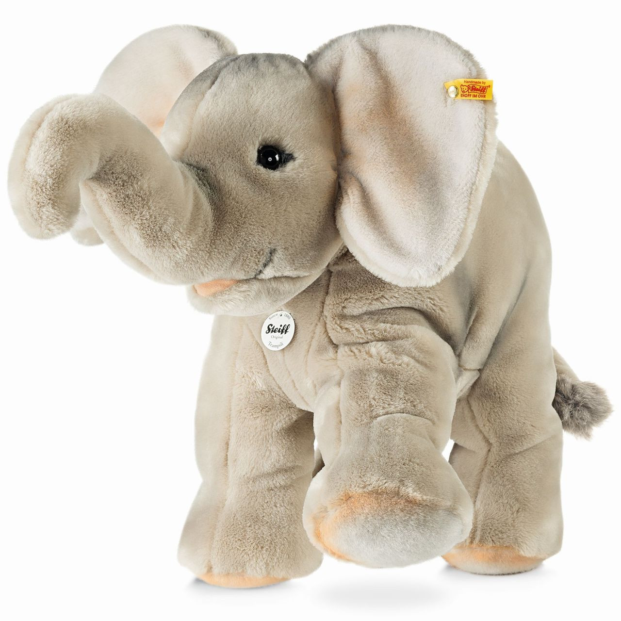Benny the Elephant with Gift Box by Steiff EAN 084096