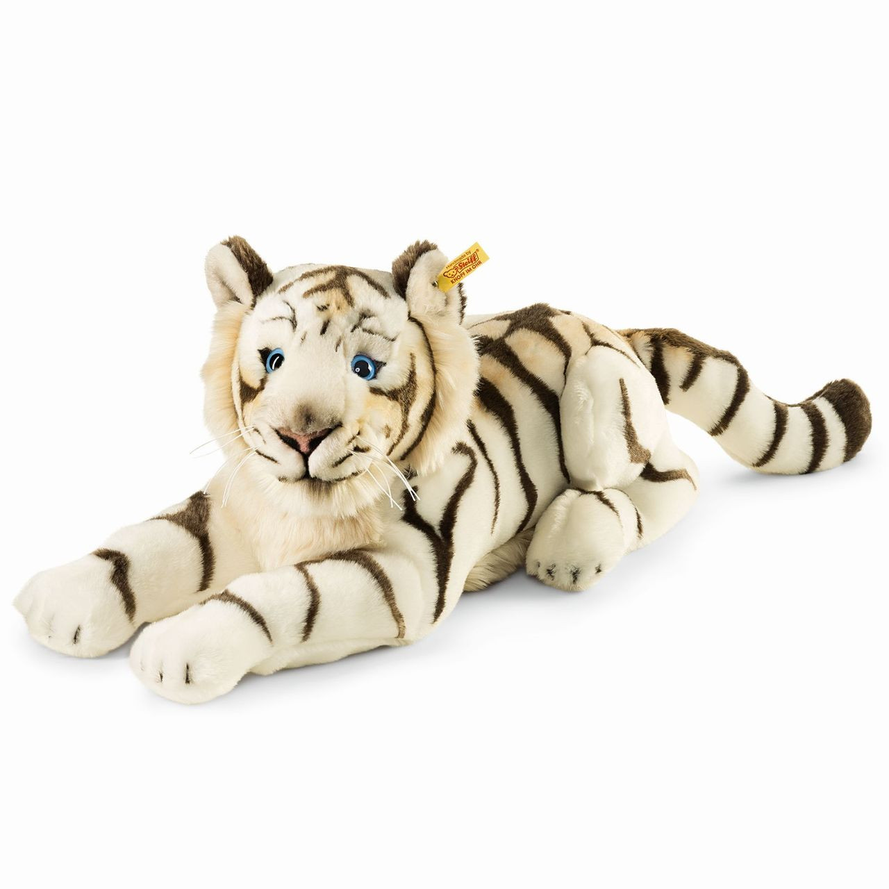 Stuffed Animals White Tiger Bharat Steiff Ean 066153