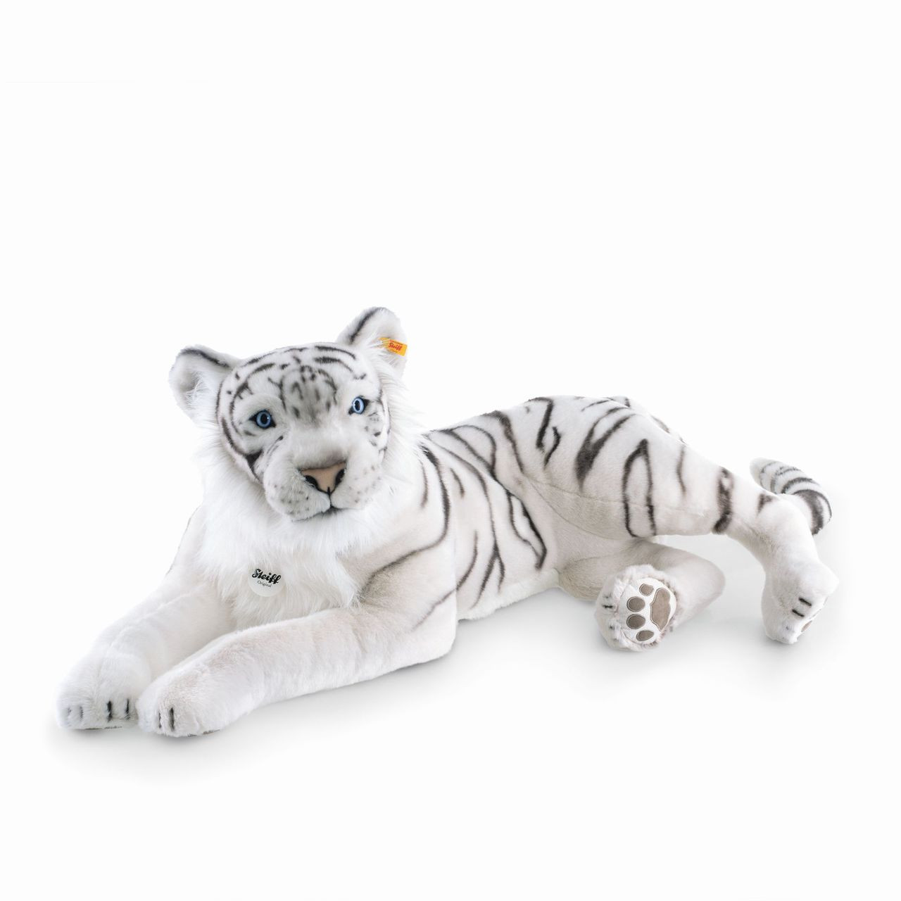 Stuffed Animals White Tiger Sahir Steiff Ean 075742