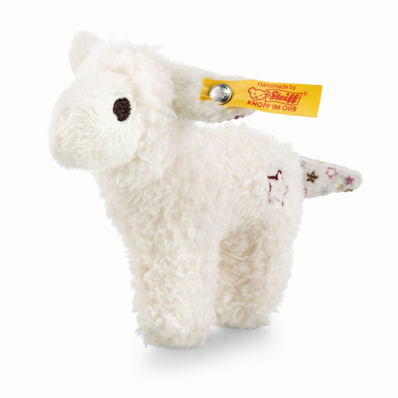 Steiff 240676 Mini Lamb with rustling foil white with gift box