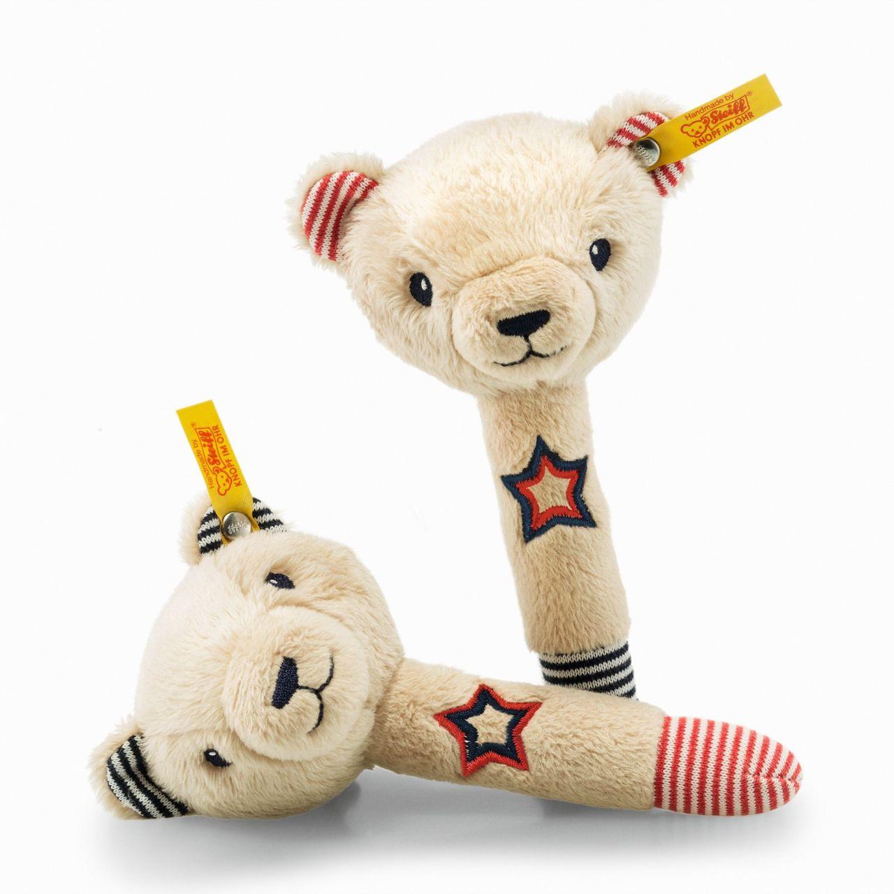 Steiff Teddy Bear Band Niklie Bear Rattle Set 241185
