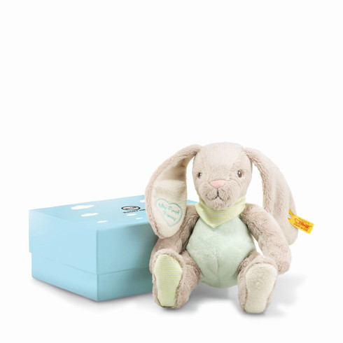 My First Steiff - Rabbit With Rustling Foil In Gift Box EAN 241154