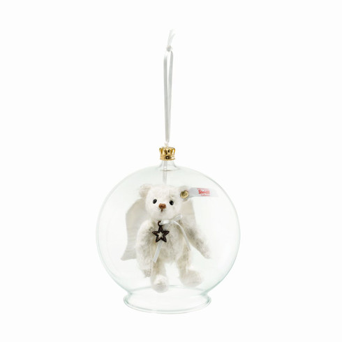 Gabriel Teddy Bear In Bauble Ornament EAN 006739