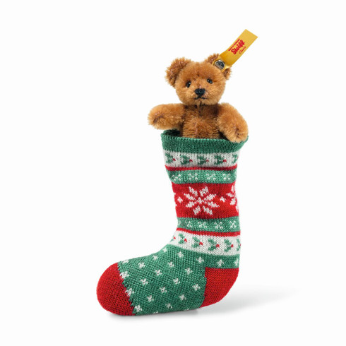 Mini Teddy Bear In Sock EAN 026775