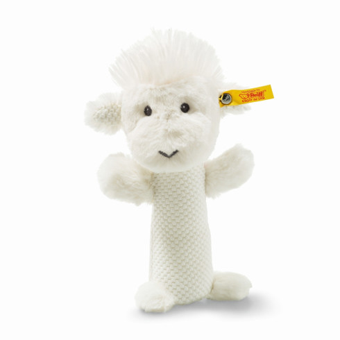 Steiff Wooly Lamb Rattle Soft Cuddly Friends EAN 240775