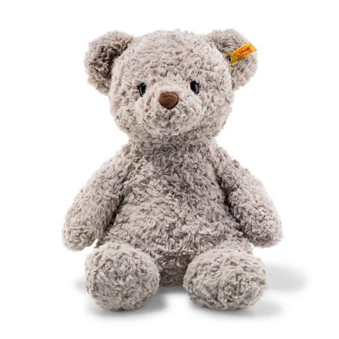 """Steiff Honey Teddy Bear large 15"""" Soft Cuddly Friends EAN 113437"""
