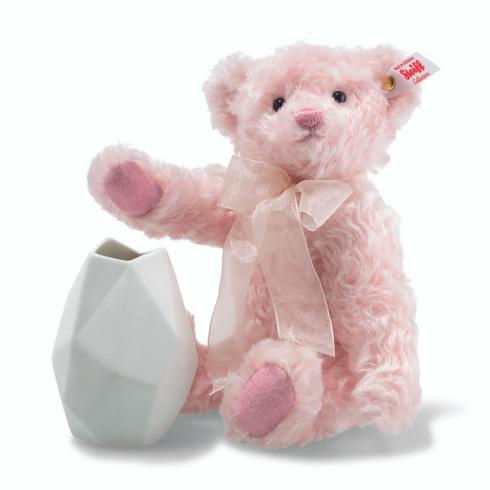 Steiff Rose Teddy Bear with Rosenthal Vase EAN 006760